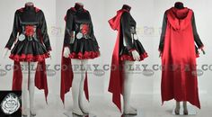 ruby rose anime cosplay | Custom Ruby Cosplay from RWBY - Tailor-Made Cosplay Costume