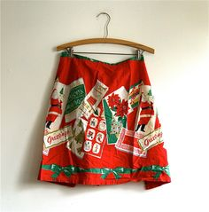 searching for a Christmas apron...