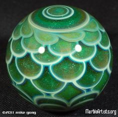 JP: Glass Marbles - Lotus Green Hit - Mike Gong