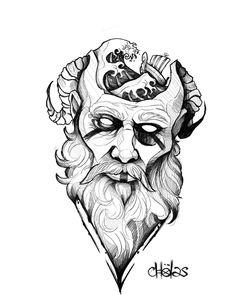 Norse Mythology Tattoo, Norse Tattoo, Viking Tattoo Sleeve, Viking Tattoos, Tattoo Sketches, Tattoo Drawings, 3d Tattoos, Tattoo Studio, Shoulder Armor Tattoo