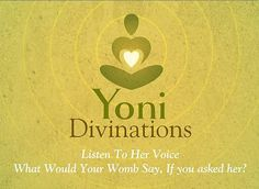 Yoni Divination by YONILOVELY on Etsy, $30.00