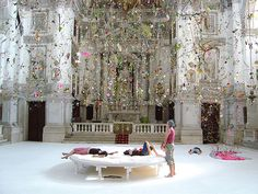 Falling Garden by Gerda Steiner & Jörg Lenzlinger | 22 Dreamy Art Installations You Want To LiveIn