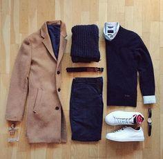 Camel coat grid ✨✨ Upgrade your style  @stylishmanmag  @shopthatgrid  @bruttone