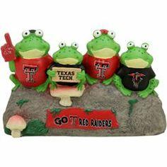 I NEED this for my garden ASAP!!!! Omg so cute! :)             A little Tech spirit for the garden. #TexasTech #TTAA #SupportTradition