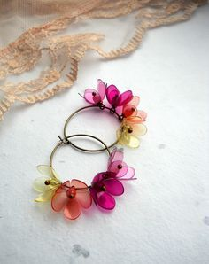 earrings made from plastic bottles - Google Search