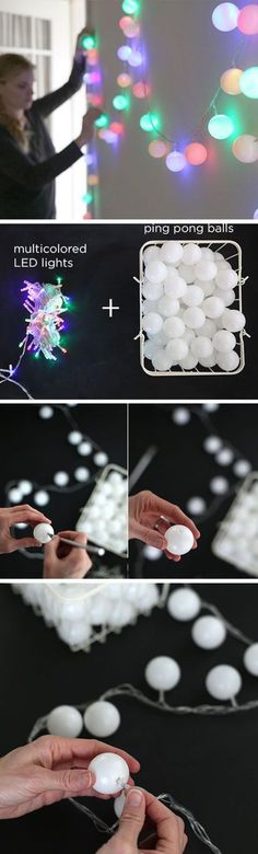 20 beautiful decoration ideas to use your fairy lights!