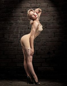 Miss mosh  shared for the love of pin up by http://thepinuppodcast.com - those shoes are amazing.