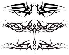 #Tattoo #TattooIdeas #TribalTattoos #TattooDesigns Simple Tribal Tattoos, Tribal Tattoos For Men, Tribal Sleeve Tattoos, Tattoos For Guys, Tribal Wings, Tribal Arm, Stencils Tatuagem, Tattoo Stencils, Band Tattoo