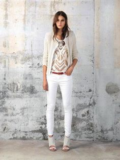 white fit