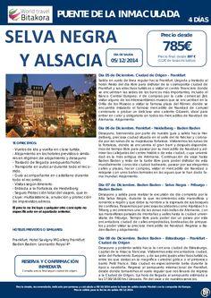 Puente de la Inmaculada: Circuito por ALEMANIA desde 785€ + tasas ultimo minuto - http://zocotours.com/puente-de-la-inmaculada-circuito-por-alemania-desde-785e-tasas-ultimo-minuto/
