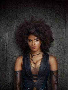 Zazie Beetz in Deadpool 2 (2018)