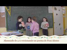 Vídeo. Alumnado de 3º de Primaria recita un poema de «O meu gato é un poeta», de Fran Alonso, nun lúdico xogo de intercambio de versos. Fonte: http://www.youtube.com/user/amestrademusica?feature=watch