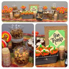 Thanksgiving Bar by Bites and Blessings