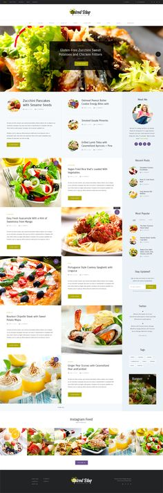 Spiced Blog - WordPress Personal Blog Theme #responsivedesign #html5 #wordpressthemes #Bootstrap #websitedesign