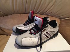 @fencinguniverse : Blue Gauntlet MVP III fencing shoes size 6.5 Pre-Owned  $30.00 End Date: Monday Oct-19-201 http://aafa.me/1V3vEM9 http://aafa.me/1LFROcO