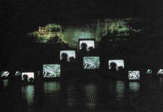 Titulo: El paso del Quindío (2012) // Autor: José Alejandro Restrepo // Tipo de obra: Video-Instalación