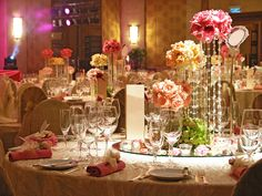 wedding tables decoration