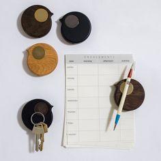 BiRP magnet for fridge or whiteboard - double pack