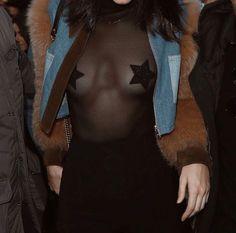 Kendall Jenner à l'after party du défilé Givenchy à Paris
