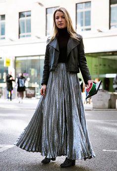 ec6fb7a5c Las 8 mejores imágenes de plisada en 2016 | Atuendo con falda ...