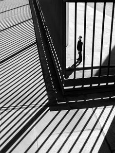 Man On Earth by Rupert Vandervell: people in spaces, abstracted in black and white. Click through for more.