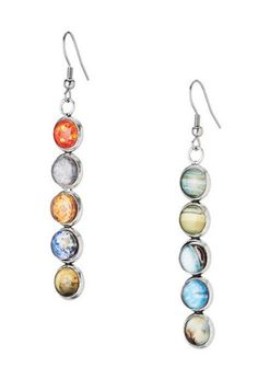 Solar System Mismatched EARRINGS by Yugen Planets Sun Galaxy Silver - Gift Boxed | Jewelry & Watches, Fashion Jewelry, Earrings | eBay!