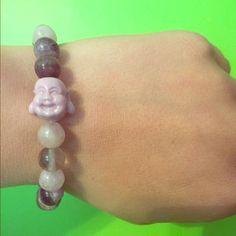 Purple Buddha bracelet Purple beaded Buddha bracelet. Meant to bring peace, spiritual calmness and keep you grounded. Buddhaful Human Jewelry Bracelets