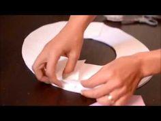 Como fazer guirlanda costurada à mão