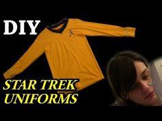 DIY Star Trek Uniforms (TOS)