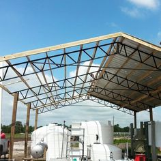 Photos Pictures Of Steel Truss Pole Barns Horse Hay Arenas