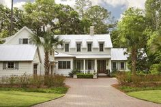 Palmetto Bluff - Private Residence - traditional - exterior - charleston - Linda McDougald Design | Postcard from Paris Home