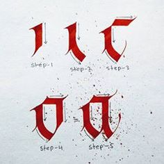 """Step by Step lettering Series for beginners… How to make Alphabet """"a""""……Ver… – tatowieren Calligraphy Alphabet Tutorial, Caligraphy Alphabet, Hand Lettering Alphabet, Lettering Tutorial, Calligraphy Letters, Typography Letters, Penmanship, Calligraphy Envelope, Copperplate Calligraphy"""