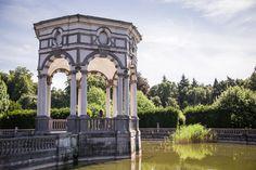 Gazebo at Park of Enghien, Wallonia, Belgium - Bold Bliss
