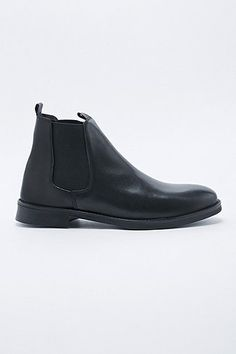 Selected Homme Marc Chelsea Boots in Black - Urban Outfitters