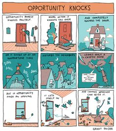INCIDENTAL COMICS: O