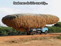 The way real men do it…