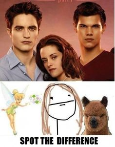 The bottom picture is Twilight.. right?