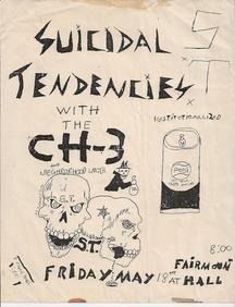 Rare Punk Flyer - Suicidal Tendicies