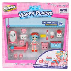 Happy Places Shopkins Welcome Pack - Dreamy Bear