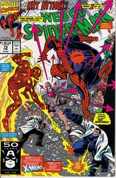 Web of Spider-Man 73 February 1991 Issue Marvel by ViewObscura