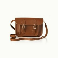 """SALE 11"""" Satchel Vintage Brown - A Day with Kate  The Cambridge Satchel Company"""