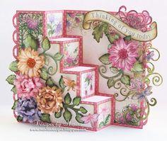 Designs by Marisa: Heartfelt Creations - Enchanted Mum Four Step Card Tutorial