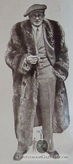 Fur coat 1920s