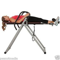 Exerpeutic 5503 Inversion Table Back Pain Relief Fitness Therapy Exercise Ironma