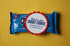"it is what it is: smart cookie change wording to:  ""You're one Smart Cookie (Thanks for coming to our party!)"""