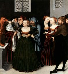 The Mouth of Truth - Lucas Cranach