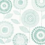 The Shape of Spring -  Petal Print - Sage