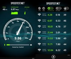 How fast is your Internet.  Is something or someone siphoning your bandwidth