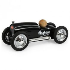 Petite voiture en métal Baghera Roadster Noir