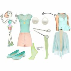 Pearl (Steven Universe) inspired outfit